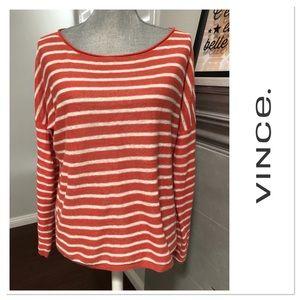 VINCE. Linen Long Sleeve